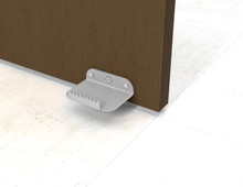 Hands Free Foot Operated Door Opener Hardware, Sold in Pairs. Made in the USA