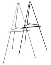 Economy Aluminum Easel, Black. Made in the USA