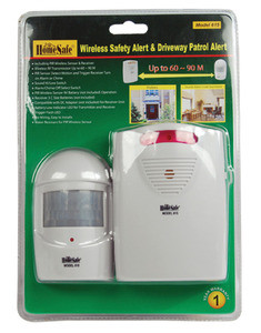 HomeSafe® Wireless Safety Alert & Driveway Patrol Alarm
