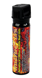 WILDFIRE 18% PEPPER SPRAY Flip top with Actuator Stream -4oz