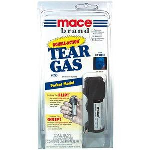 MICHIGAN APPROVED POCKET MODEL DOUBLE ACTION CS TEAR GAS