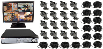 16 CHANNEL WIRED DIGITAL VIDEO RECORDING COMPLETE SYSTEM