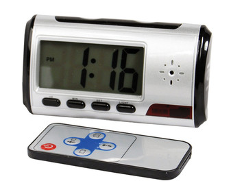 MINI DIGITAL COLOR ALARM CLOCK DVR