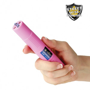Lady Lightning Rod 2,500,000* Rechargeable Stun Pen Pink