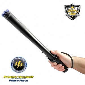 Police Force 9,000,000* Tactical Stun Baton Flashlight