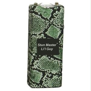 Stun Master Lil Guy 12,000,000 volts Snake Skin Stun Gun W/flashlight and Nylon Holster