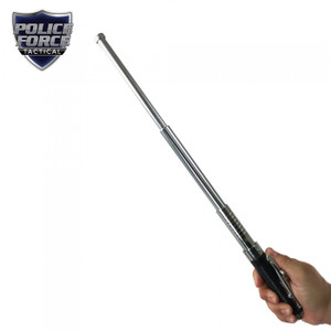 Police Force 21 inch Automatic Expandable Baton CHROME