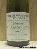 "William Fevre Chablis Grand Cru ""Les Clos"" 2005 (750ml)"