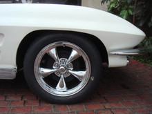 63 - 67 Corvette American Racing Wheels Polished