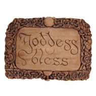 Goddess Bless Plaque