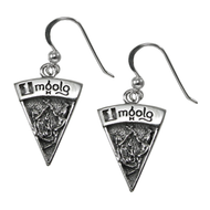 Sterling Silver Imbolg Sabbat Dangle Earrings