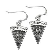 Sterling Silver Midsummer Sabbat Dangle Earrings