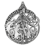 Sterling Silver Tyr Pendant