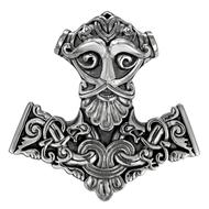 Sterling Silver Thor Hammer Pendant
