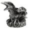 Mini Pewter Raven Candle Holder