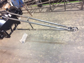Racecraft Wheelie Bar and Mounts (welded) Will fit most fab dragster housings