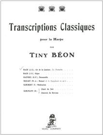 Bach/Beon: Air de la Cantate 'La Pentecote' for Harp Solo
