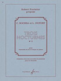 Bochsa/Duport: Trois Nocturnes No.1 pour clarinette en si flat et harp