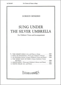 Binkerd: The Christ-Child ( for SA Chorus with harp, score)