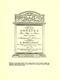 Boieldieu/Zabaleta: Sonates pour Harpe et Piano