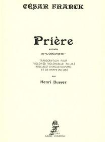 Cesar Franck/Henri Busser: Priere
