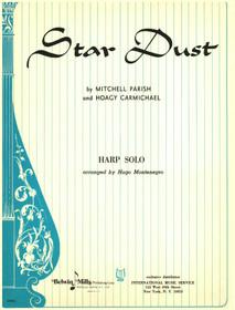 Carmichael / Parish / Montenegro: Stardust for Harp Solo