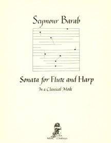 Seymour Barab: Sonata for Flute & Harp in a Classic Mode