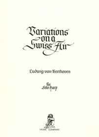 Beethoven/Lawrence: Variations on a Swiss Air