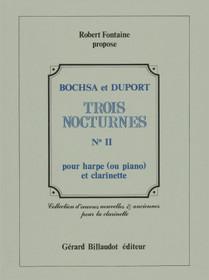 Bochsa/Duport: Trois Nocturnes No. II pour clarinette et harp