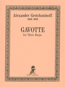 Gretchaninoff: Gavotte for 3 Harps