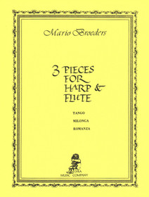 Broeders: 3 Pieces for Harp and Flute
