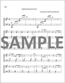 Dickstein/Steiner: Greensleeves for Harp Solo