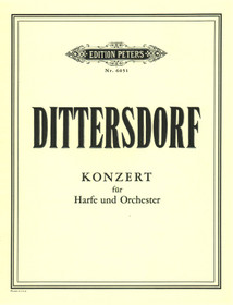 Dittersdorf/ Pillney: Konzert for Harp & Orchestra (Score)