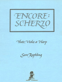 Raphling: Encore: Scherzo for Fl, Vla, & Hp
