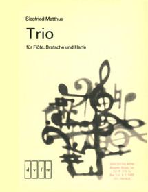 Matthus: Trio fur Flote, Bratsche, und Harfe