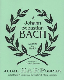 Bach/Burton: J.S. Bach Album for Harp (Downloadable)