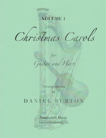Burton:  Christmas Carols for Guitar & Harp Vol. 1 (Downloadable)