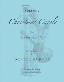 Burton:  Christmas Carols for Guitar & Harp Vol. 2 (Downloadable)