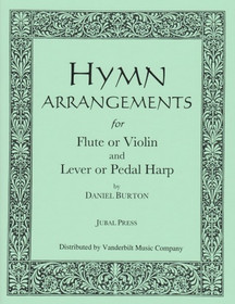 Burton: Hymn Arrangements for Flute or Violin and Harp (Downloadable)