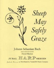 Bach/Burton: Sheep May Safely Graze (solo harp) (Downloadable)