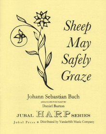 Bach/Burton: Sheep May Safely Graze (solo harp) (Digital Download)