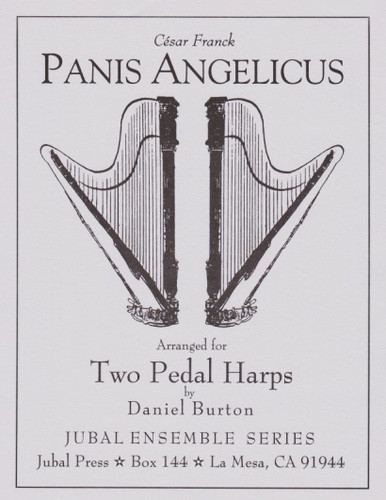 Franck  Burton  Panis Angelicus  2 Harps   Downloadable