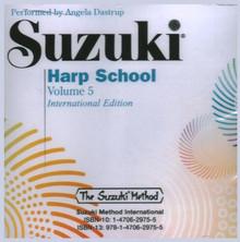 Suzuki Harp School Vol. 5 CD (Compact Disc ONLY)