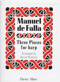 Manuel de Falla, Three Pieces for Harp, Arranged by David Watkins