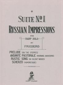 Frieberg: Suite No. 1 - Russian Impressions for Harp Solo