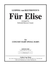 Beethovan/Henson-Conant: Für Elise - for Pedal Harp (Digital Download)