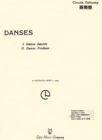 Debussy: Danses Sacree & Profane (Harp and Piano) (Digital Download)