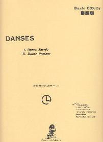 Debussy: Danses Sacred & Profane (full score) (Digital Download)