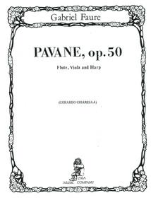 Faure/Chiarella: Pavane, Op. 50 for Flute, Viola, and Harp (Digital Download)
