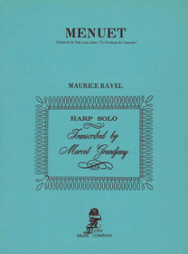 Ravel/Grandjany: Menuet (Extrait de la Suite pour piano 'Le Tombeau de Couperin') (Digital Download)